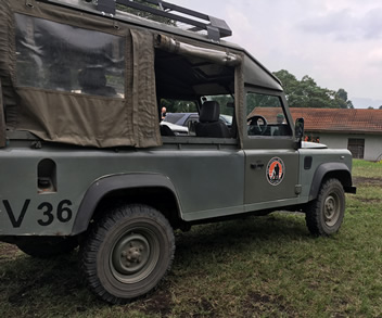 Safari Van for Congo Safari