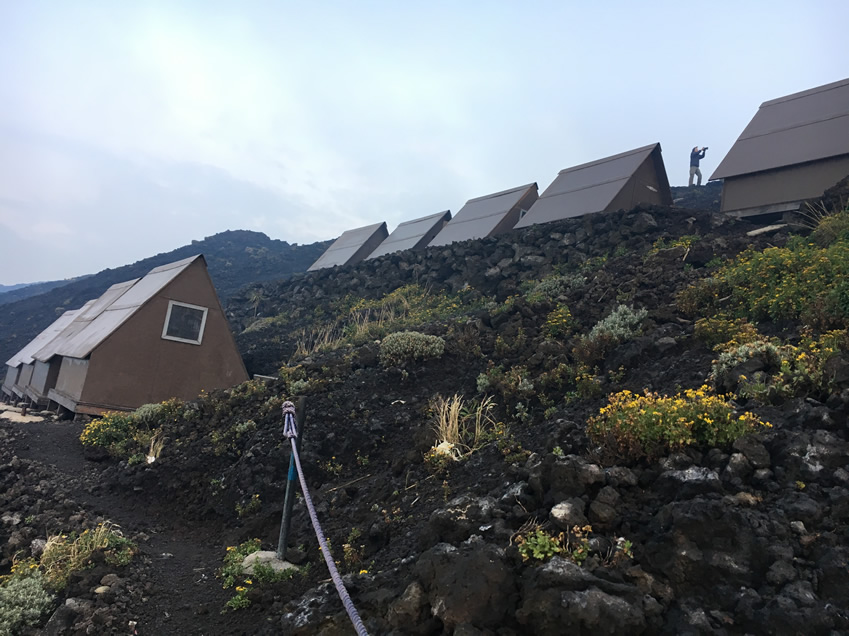 Nyiragongo volcano Summit
