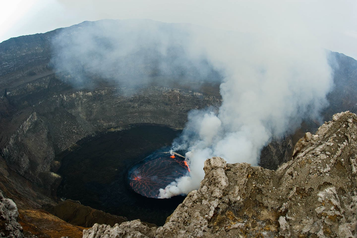 Nyiragongo Hike in Virunga